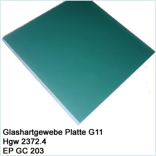 Glashartgewebe Platte